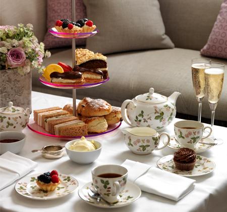 Afternoon Tea at Knightsbridge Hotel