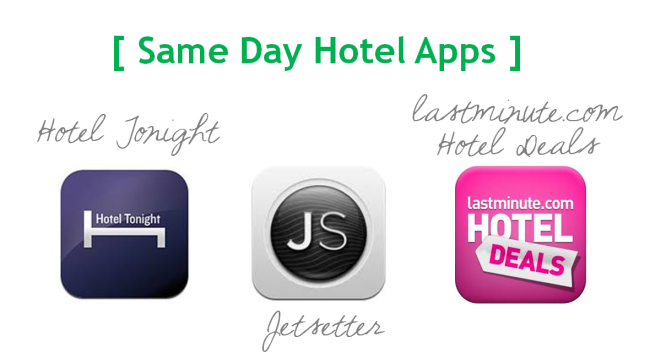 Last Minute Hotel Apps