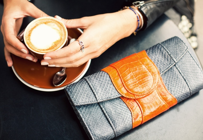 Coffee and Clutch