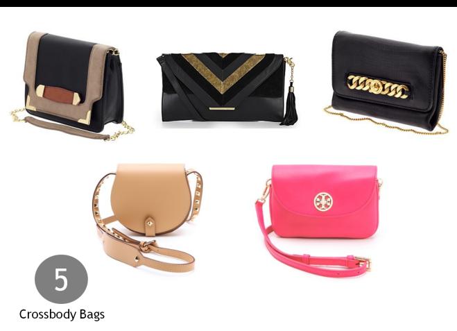 5 crossbody bags