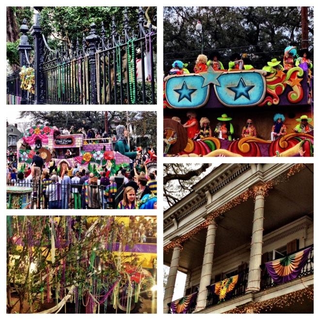 Colors of Mardi Gras