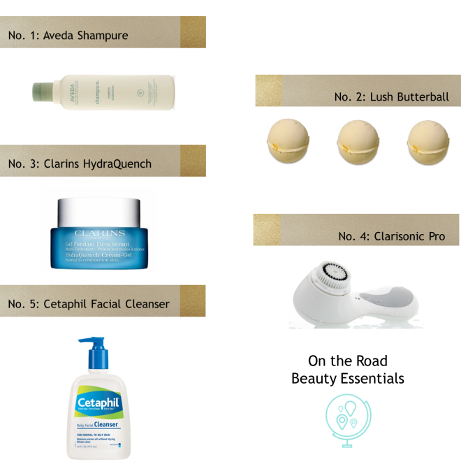 On the Road Beauty Essentials